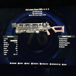 Weapon   AA gauss rifle 90%
