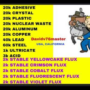 Junk | huge stable flux & junk