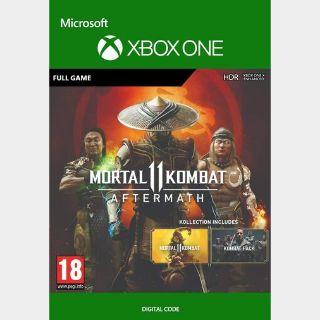 Mortal Kombat 11: Aftermath Kollection Xbox One Global CD Key - Instant delivey