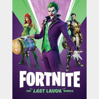 Fortnite: The Last Laugh Bundle PS4/ PS5 - EUROPE region - instant delivery!