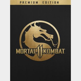 Mortal Kombat 11: Premium Edition PSN/ PS4 US/ United States Key/ Code - Instant delivery