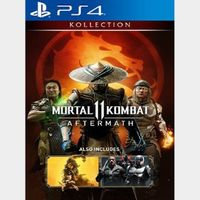 Mortal Kombat 11: Aftermath Kollection PSN US digital key - instant delivery