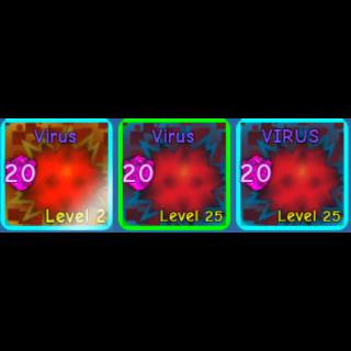 Pet | BGS  virus x2 shiny x1
