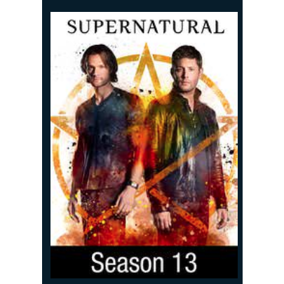 Supernatural Season 13(Redeems on Vudu only) - Digital Movies