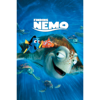 Finding Nemo (Redeems on Moviesanywhere or Vudu + Disney Points)