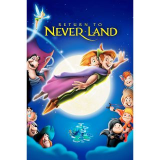 Peter Pan 2 Return to Never Land (Redeems on Moviesanywhere or Vudu + Disney Points)