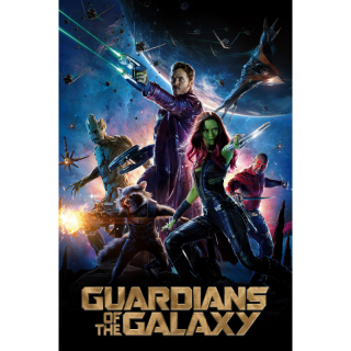Guardians of the Galaxy(Redeems on Moviesanywhere or Vudu + Disney Points)