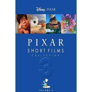 Pixar Short Films Collection: Volume 3(Redeems on Google Play)