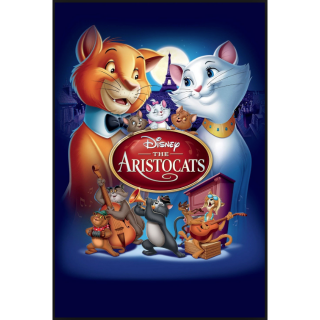 The Aristocats(Redeems on Moviesanywhere or Vudu + Disney Points)