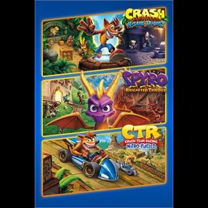 Crash™ + Spyro™ Triple Play Bundle