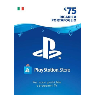 €75.00 PlayStation Store