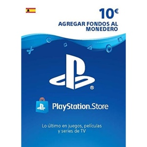 €10.00 PlayStation Store