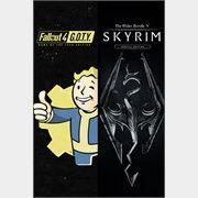 Skyrim Special Edition + Fallout 4 G.O.T.Y Bundle xbox one