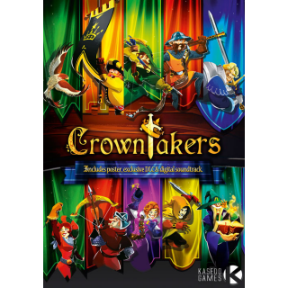 Crowntakers Steam Key [INSTANT DELIVERY]