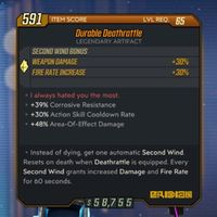 Artifact | Durable Deathrattle