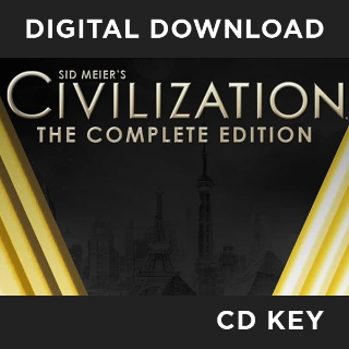 SID MEIER'S CIVILIZATION V COMPLETE EDITION STEAM CD KEY