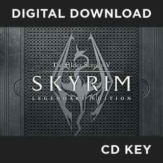 THE ELDER SCROLLS V: SKYRIM LEGENDARY EDITION STEAM CD KEY