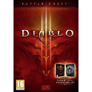Diablo 3 Battlechest Battle.net Key PC GLOBAL