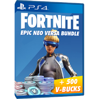 (US) Fortnite Neo Versa Bundle and 500 vbucks Ps4