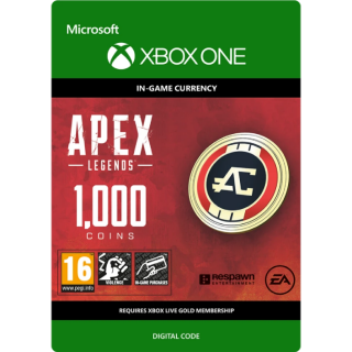 APEX LEGENDS - 1000 APEX COINS XBOX ONE CD KEY