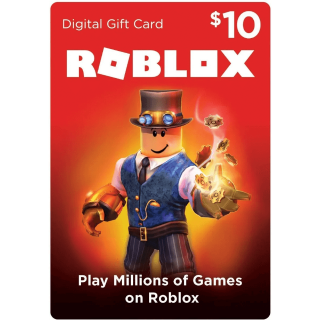 $10 Roblox US Gift Card [𝐈𝐍𝐒𝐓𝐀𝐍𝐓 𝐃𝐄𝐋𝐈𝐕𝐄𝐑𝐘]