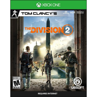 Tom Clancy's The Division 2 XBOX LIVE Key Xbox One GLOBAL
