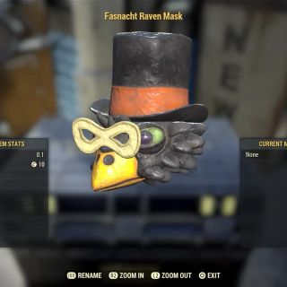 Apparel   Raven Mask!
