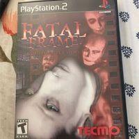 Ps2 game fatal frame complete