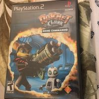 Ps2 game ratchet and clank going commando complete