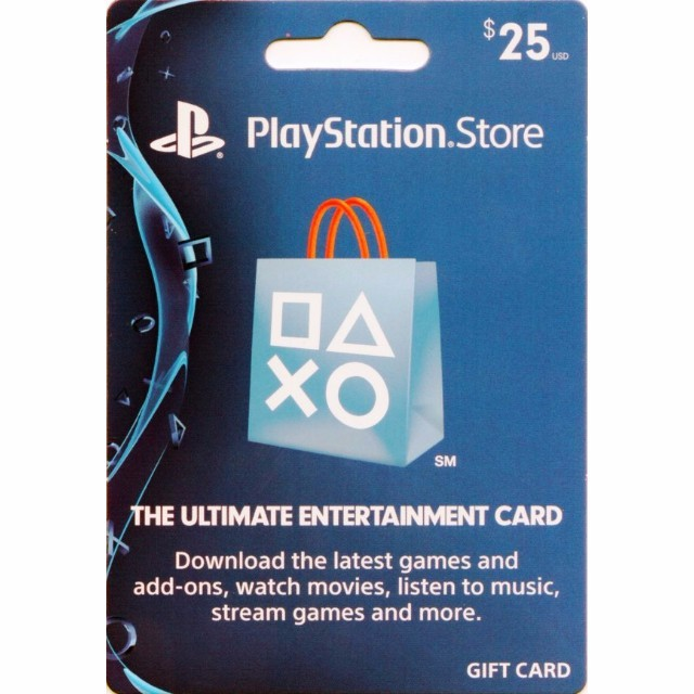 Psn 25 Us Gift Card Instant Delivery Playstation Store Gift