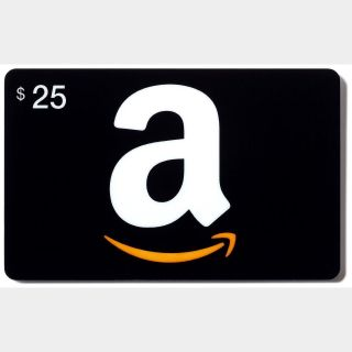 USA - $25 Amazon eGift Card - Instant Delivery