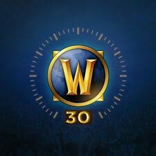 WoW - World of Warcraft 30 days Game Time  Code - US - Instant Delivery