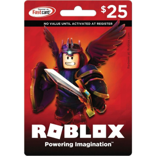 USA - $25.00 Roblox Gift Card - Instant Delivery