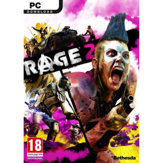 USA - Rage 2 Standard Edition - PC Bethesda Digital Code - Instant Delivery