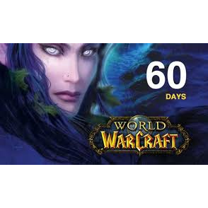 WoW - World of Warcraft 60 days Game Time Code - US - Instant Delivery