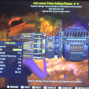 Weapon | 2⭐️ AA Gatling Plasma