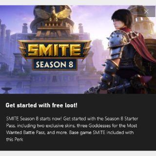 SMITE starter pack