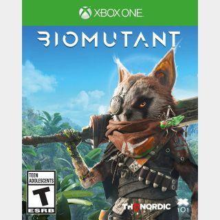 Biomutant Xbox Series X S /Xbox One