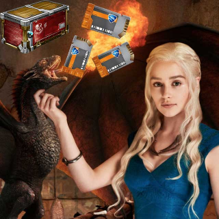 130х Key + 130x Player's Choice Crate