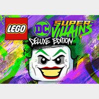 LEGO DC Super-Villains Deluxe Edition Steam Key GLOBAL
