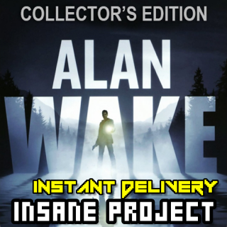 ⭐ɪɴ𝐬ᴛᴀɴᴛ!⭐ Alan Wake Collector's Edition Steam CD Key