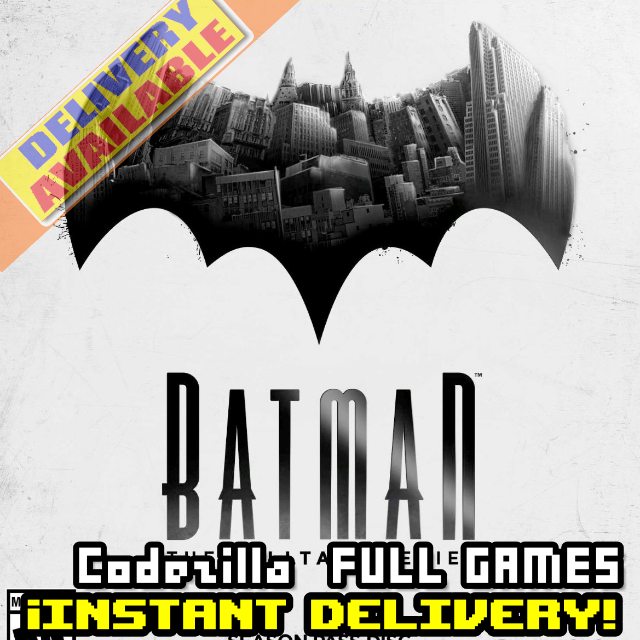 [𝐈𝐍𝐒𝐓𝐀𝐍𝐓] Batman - The Telltale Series - Available CD-Key Global