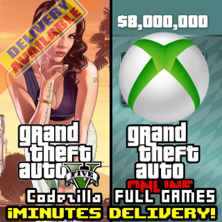 Grand Theft Auto Online: Megalodon Shark Cash Card XBOX ONE/XBOX LIVE GLOBAL 8 000 000 USD Key[GTA V][GTA 5]