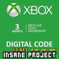 XBOX LIVE GOLD 3 month membership Xbox Code Global