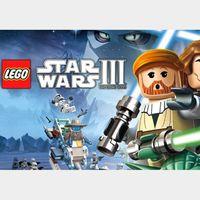 LEGO: Star Wars III - The Clone Wars Steam Key GLOBAL
