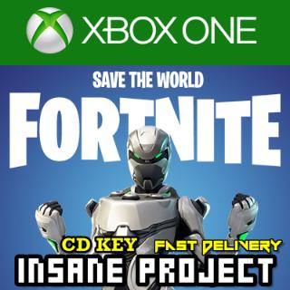 Fortnite + Eon Skin + 2000 V-Bucks + Save The World XBOX One CD Key