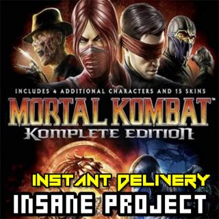 ⭐ɪɴ𝐬ᴛᴀɴᴛ!⭐ Mortal Kombat Komplete Edition Steam Key GLOBAL
