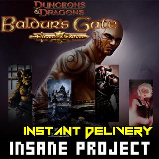 ⭐ɪɴ𝐬ᴛᴀɴᴛ!⭐ Baldur's Gate: Enhanced Edition Steam CD Key