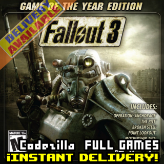 Fallout 3 - Game of the Year Edition [STEAM][REGION:GLOBAL][KEY/CODE]