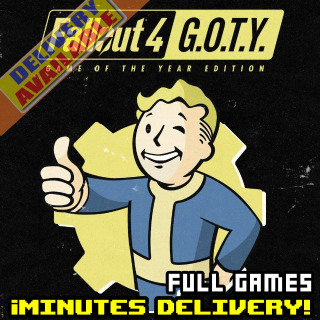 Fallout 4: Game of the Year Edition [STEAM][REGION:GLOBAL][KEY/CODE]
